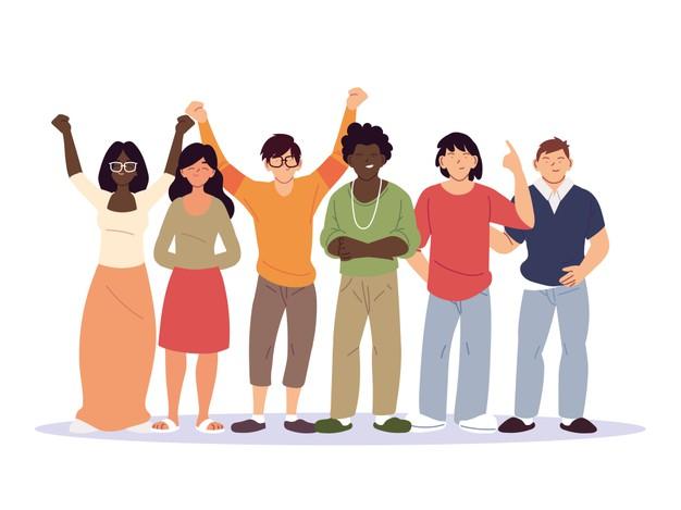 diversidad-dibujos-animados-mujeres-hombres-personas-raza-multietnica-e-ilustracion-tema-multicultural_24911-61326